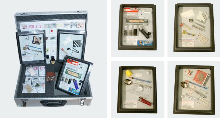 Drugs-Identification-Training-Kit