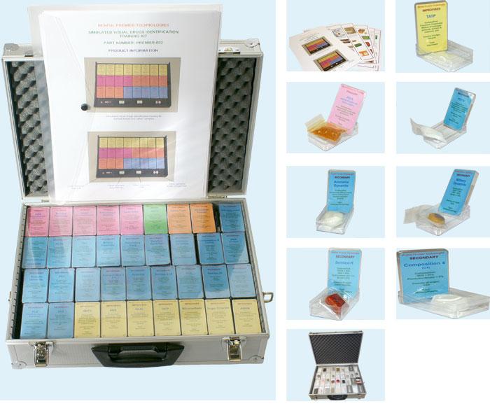 Explosives-Identification-Training-Kit